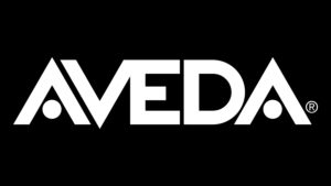 The logo of Aveda which is g-events dmc | pco client.