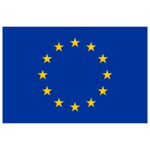 The logo of the European Union which is g-events dmc | pco client.