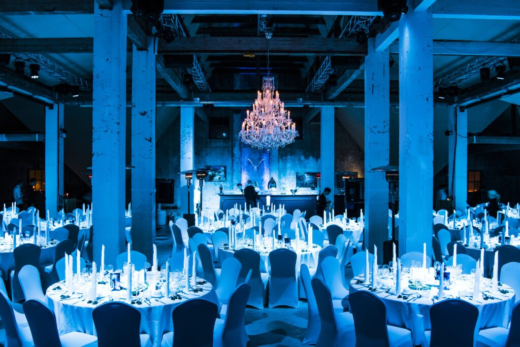 Gala dinner, award ceremony and party for Pepsi at old barn Korpúlfsstaðir at event planned by g-events dmc | pco.