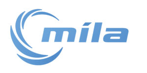The logo of Míla which is g-events dmc | pco client.