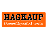 The logo of Hagkaup one of Iceland´s biggest retailers which is g-events dmc | pco client.