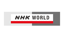 The logo of NHK one of Japans biggest TV stations which is g-events dmc | pco client.